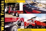 Polished-Aluminum 6900 System for Waste Trucks