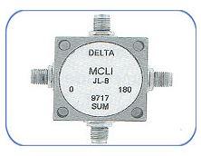 180 Degree 3-4 Port Hybrid Couplers