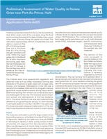 Preliminary Assessment Of Water Quality In Riviera Grise Near Port-Au-Prince, Haiti