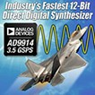 2.5 GSPS Direct Digital Synthesizer with 12-Bit DAC: AS9915