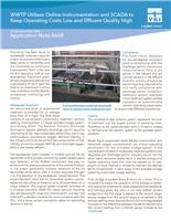 WWTP Utilizes Online Instrumentation And SCADA To Keep Operating Costs Low And Effluent Quality High