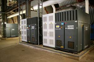 Compressor Installation Lowers Energy Needs By 18%