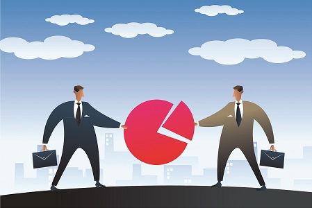 startups outsourcing opposite poles or virtual partners