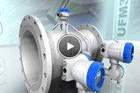 Ultrasonic 3400 Flowmeter For Liquids In All Industrial Applications