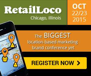Retail Location based conference