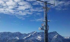 Mobile Radio Network Measures Rainfall