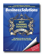 Best Channel Vendor 2014 Home