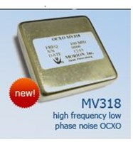 OCXO with Ultra-Low Phase Noise: MV318