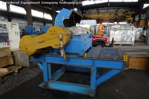 Used Sharples Super D Canter Chemical Centrifuge