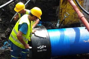 New Polyethylene Piping System Provides Clean Water For 150,000 Residents
