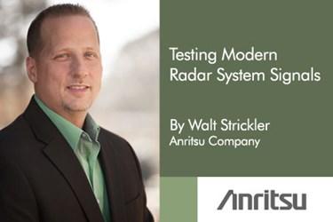Testing Modern Radar Systems