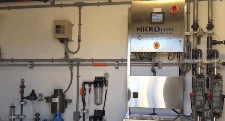 Monoclor Chloramine Residual Management System Manages Residual For Problematic 5.5 Million Gallon Tank