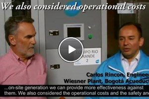 Replacing Chlorine Gas for Drinking Water Disinfection | Customer Testimonial