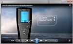 The YSI Pro30 Handheld Conductivity/Salinity Meter Video