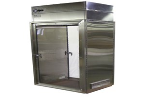 Pharmaceutical Air Shower, DownFlow Cart Entry System