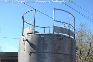Used 5,000 Gallon Lee Industries Chemical Tank