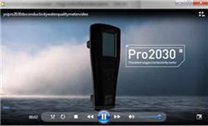The YSI Pro2030 Handheld Conductivity And DO Meter Video