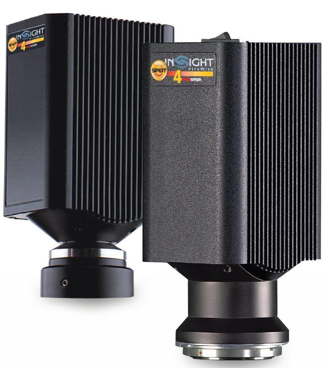 2 and 4 MP Firewire CCD Camera SPOT Insight Camera