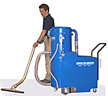 VAC U MAX Announces Model 110MFS Portable Industrial Vacuum Cleaner