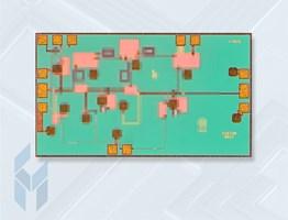 33-45 GHz GaAs MMIC Low Noise Amplifier