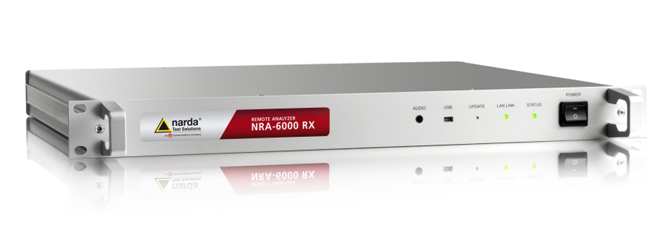Remote Analyzer with receiver characteristics: NRA-6000 RX