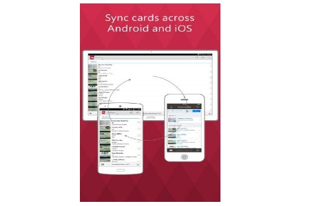 New abbyy business card reader for android allows contact sync with ios reheart Gallery