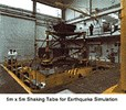 Elastic Support of Test Stands and Testing Equipment