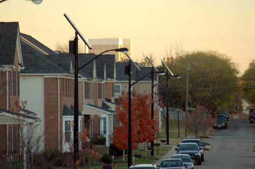 Sol Inc Solar Lighting Systems Illuminate New Residential Development In The City Of Richmond Va