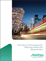 Overview Of Technologies For Millimeter-Wave OTA Measurement