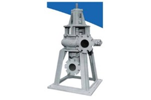 Vertical Non-Clog Wastewater Pumps: NSWV Model 200 & 250