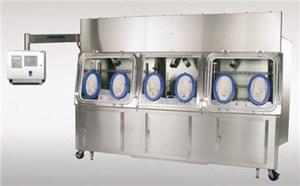 Six-Glove Sterility Testing Isolator
