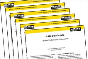 CAGI Data Sheets: Blower Performance Comparison
