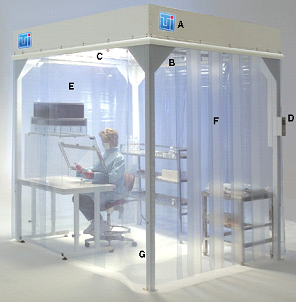 Compounding Pharmacy Clean Room Softwall And Hardwall Designs