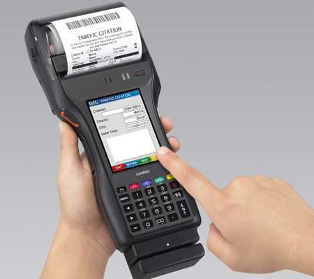 Casio To Release Handheld Printer Terminal Offering Data Collection And  Printing All In One Unit