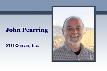 John Pearring, Vice President of STORServer, Inc.