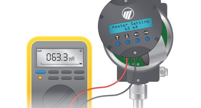 Advanced Diagnostics of Thermal Mass Flow Meters