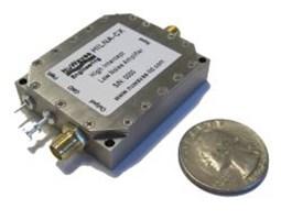 High Intercept Low Noise Amplifier: HILNA™ CX: 5 to 10 GHz, 32 dB Gain