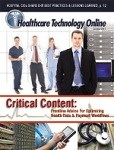 Get Your Free Subscription To Healthcare Technology Online Magazine!