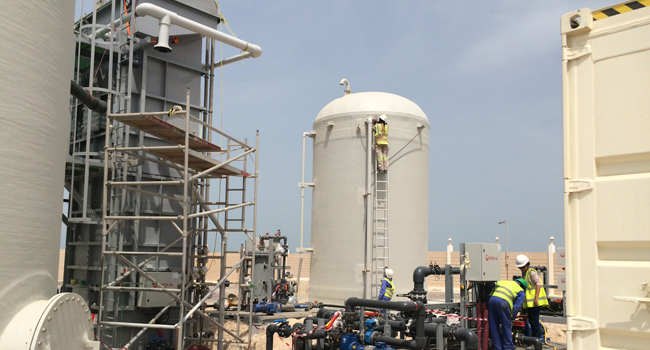 Desalination Innovation In The UAE