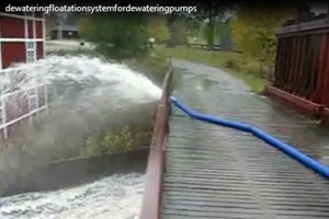 ABS Dewatering - Floatation System For Dewatering Pumps Video