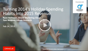Turning 2014's Holiday Spending Habits Into 2015 Revenue