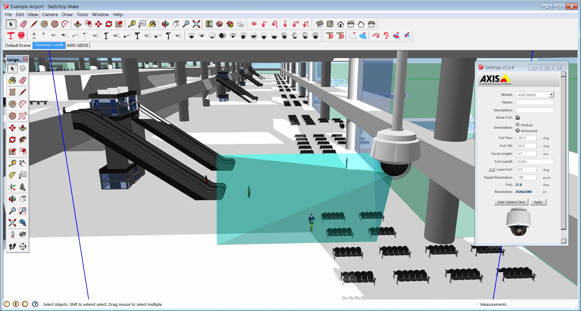 Axis introduces interactive camera visualization tool for for Cctv layout software