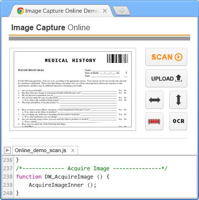 image capture software: