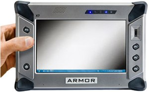 ARMOR X7 Compact Rugged Tablet