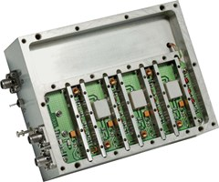 Multiplied Phase Locked Oscillator for Ultra Low Phase Noise Applications