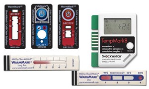 Temperature Indicators For Shipping And Storage