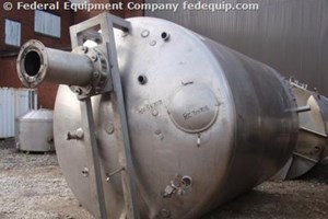 Used Walker Stainless Steel Processor – 5,000 Gallon