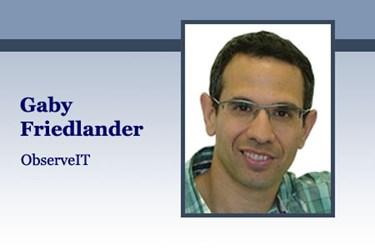 Gaby Friedlander, ObserveIT CTO