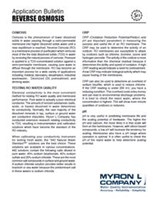 Application Bulletin: Reverse Osmosis