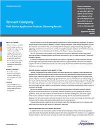 """tennant company case analysis Tennant company """"the fireapps tools are easy to use and critical to our  analysis they bring issues we might not otherwise detect to our attention quickly ."""